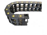 Prowadnik kabli 36x53mm prowadnice przewodów CNC
