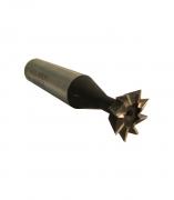 Frez Fi 14 mm 8-ostrzowy HSS 60 stopni